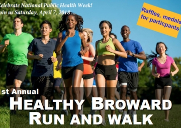 1st Annual Healthy Broward Run and Walk