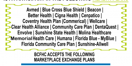 BCFHC Participate in Health Plans