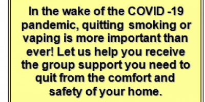 Quitting Smoking and Vaping During the COVID-19 Pandemic